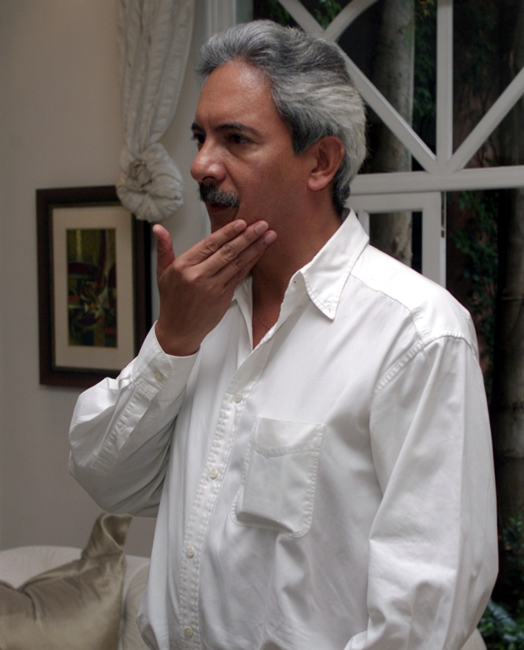 José Rubén Zamora in 2003. (Reuters)