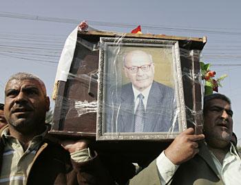 Funeral of Shihab al-Tamimi (Reuters)