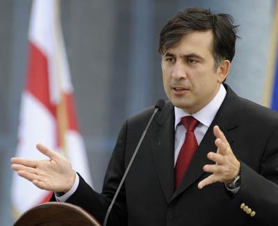 Mikhail Saakashviil President of George. (AP)