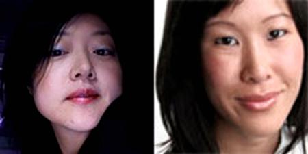 Euna Lee, left, and Laura Ling. (AP)