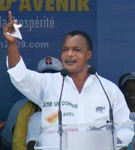 President Sassou-Nguesso (AFP)