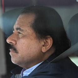 President Ortega sees private media as enemies and seeks to push them to the margins. (AP)