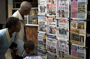 Madagascar's political crisis has led to public distrust of the media. (AFP)