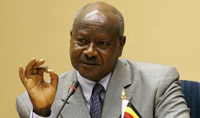 President Yoweri Museveni (AFP)
