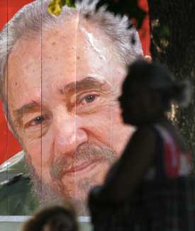 """La imagen familiar de Fidel Castro está empezando a desvanecerse. Diversent describe a su generación como """"posrevolucionaria"""". (Reuters/Enrique De La Osa)."""