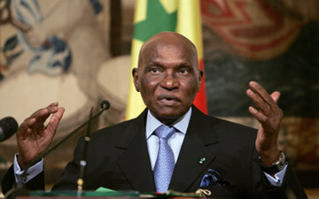 Senegalese President Abdoulaye Wade (AFP)