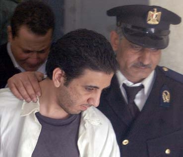 Egyptian blogger Karim Amer is serving four years in jail for insulting Islam. (Reuters)