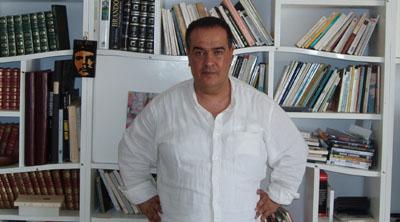 Ben Brik in a 2008 photo. (CPJ/Joel Campagna)