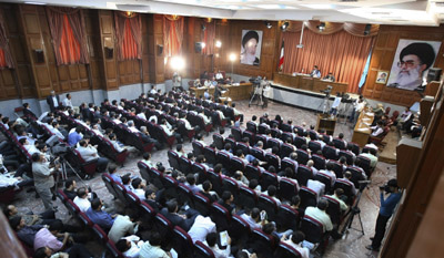 In Tehran, journalists faced vague antistate accusations during mass, televised judicial proceedings. (AP)