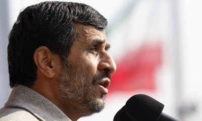 President Mahmoud Ahmadinejad (AP)