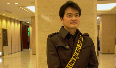 "Terasawa says his relations with police are ""like warfare."" (CPJ)"
