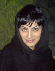 Imprisoned reporter Shiva Nazar Ahari