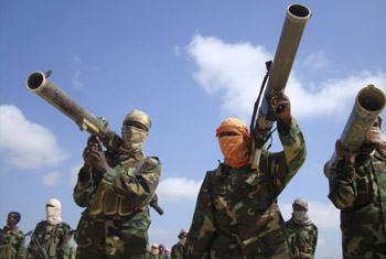 Al-Shabaab militants are suspected in the murders of several Somali journalists. (Reuters/Feisal Omar)