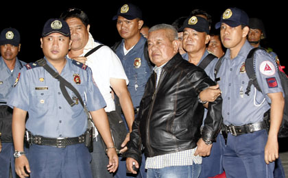 Former Maguindanao Governor Andal Ampatuan Sr., head of the Ampatuan clan, is a suspect in the Maguindanao massacre. (Reuters/Joseph Agcaoili)