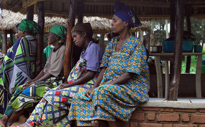 With valuable help from her interpreter, the author recently reported from Bukavu on women's rights and sexual violence. A hospital in Bukavu, above, treats victims of violence. (AFP/Adia Tshipuku)
