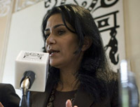 Cano winner Lydia Cacho signed a letter protesting the prize. (CPJ)