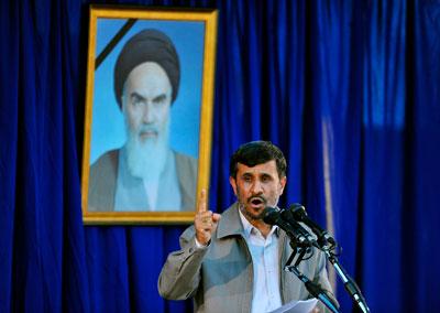 President Mahmoud Ahmadinejad. (Reuters/Sajjad Safari)