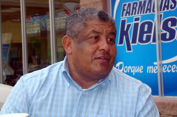 Former mayor Fúnez says something is terribly wrong with the Palacios investigation. (CPJ/Rubén Escobar)