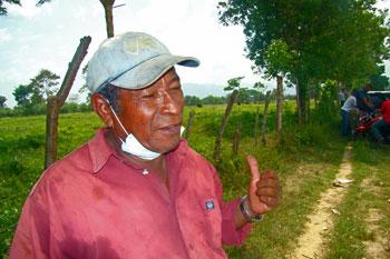 José Heriberto Palacios has many questions about his son's murder. (CPJ/Rubén Escobar)