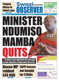 Local papers shied away from explaining the nature of the scandal around the minister.