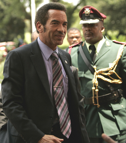 President Khama has not been a friend to the media. (Reuters)