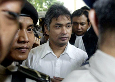 Indonesian Playboy editor Erwin Arnada is appealing his conviction and two-year jail sentence. (AP)
