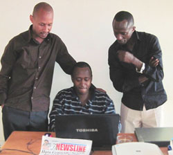 The editors of Rwanda's once-leading newspaper now publish from exile. (CPJ)
