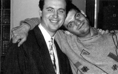 Valery Ivanov and Aleksei Sidorov, both of whom were killed for their paper's hard-hitting coverage. (AP/Tolyattinskoye Obozreniye/Alexei Yablokov)