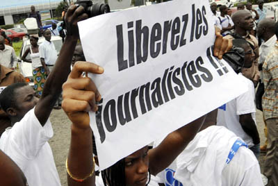 From Africa to the Americas, more journalists are imprisoned today than at any time since 1996. (AFP)