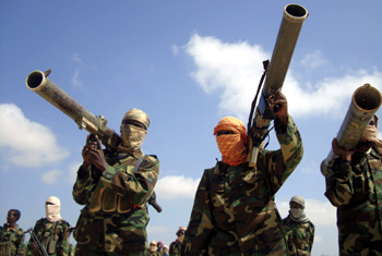Fatalities are down in Somalia, but the hard-line insurgency Al-Shabaab enforces brutal censorship. (Reuters/Feisal Omar)