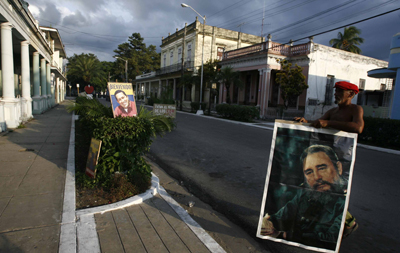 In Pinar del Río, where the author lived, worked, and went to jail for reporting on the failings of the Cuban regime. (AP/Javier Galeano)
