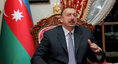 Is President Aliyev a friend of journalists? Ask the journalists jailed and harassed in his country. (AP)