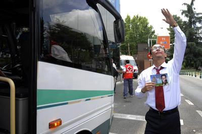Juan Carlos Herrera Acosta arrives in Spain in August. (AFP)
