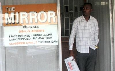 Zimbabwean editor Golden Maunganidze reported harassment of vendors of his newspaper. (Masvingo Mirror)
