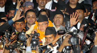 Prime Minister Jhalnath Khanal has already lost some support. (Reuters/Navesh Chitrakar)