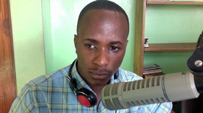 Captors held radio journalist Arafat Nzito for 10 days. (Courtesy Nzito)