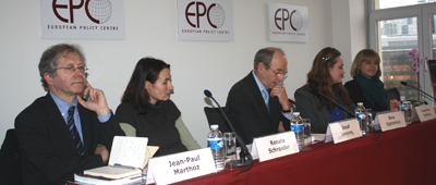 CPJ's Jean-Paul Marthoz said at the Brussels launch of Attacks on the Press that the EU must not give authoritarian governments in neighboring states an alibi to crackdown on their own press. (CPJ)