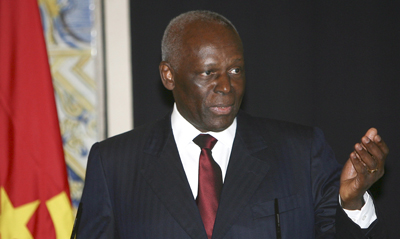 The MPLA government of Angolan President Jose Eduardo Dos Santos is facing opposition protests. (EPA)