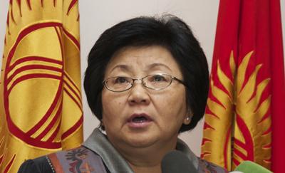 President Otunbayeva should apply the rule of law in the Askarov case. (AP/Maxim Shubovich)