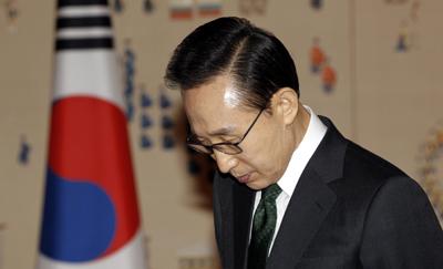 Under President Lee, more restrictive news media policies. (AP/Jo Yong-Hak)