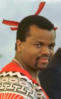 King Mswati III (AP)