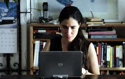 Bloggers such as Yoani Sánchez face significant technical and political hurdles. (Reuters/Desmon Boylan)