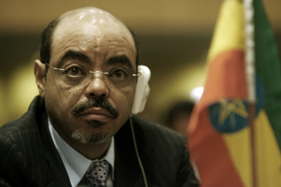 Ethiopian Prime Minister Meles Zenawi's ruling party has designated five groups as terrorist entities. (AFP)