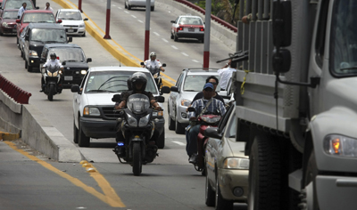 The funeral procession of Miguel Angel López Velasco, who was killed with his wife and son on June 20. (AP)