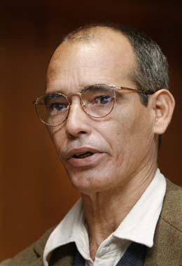 González Raga says economic prospects are growing dim. (AP/Daniel Ochoa de Olza)