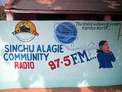 Taranga FM, under threat of closure by the National Intelligence Agency. (Taranga FM)