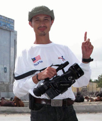 Noramfaizul Mohd, hours before he was killed. (Bernama)