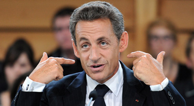 Spying on news media becomes a dark cloud over Sarkozy's government. (AFP)