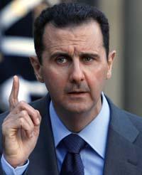 President al-Assad (AP)