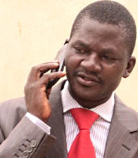 José Manuel Gimbi is one of two independent journalists in Cabinda. (Courtesy José Manuel Gimbi)